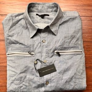 NWT Johnny Varvatos casual button down